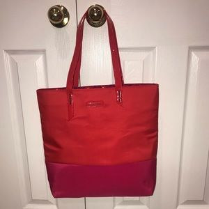 3/$25 New Lancôme Red Pink Tote Bag Handbag